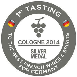 silver medal Concours de Cologne 2014