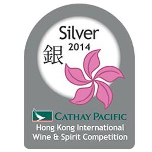 mÉdaille d'argent Hong kong International Wine & Spirit Competition 2014
