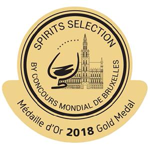mÉdaille d'or Concours mondial de Bruxelles 2018