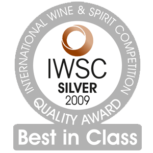 mÉdaille d'argent International Wine & Spirit Competition 2009