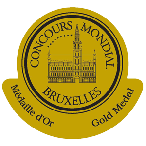 gold medal Concours Mondial de Bruxelles 2014