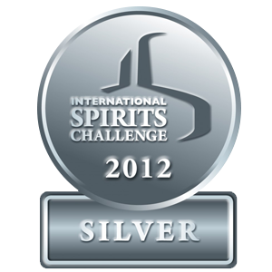 silver medal International Spirits Challenge Londres 2012