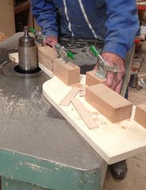 Bouchon bois - fabrication artisanale